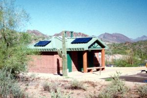 Photovoltaic Powered Restrooms